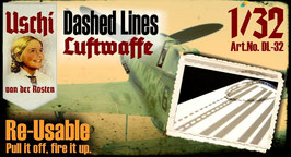Dashed Lines Luftwaffe 1/32 and 1/48