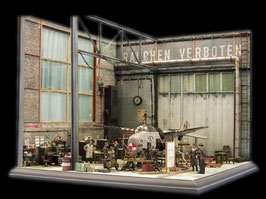 3002 Workshop Diorama Scenic Kit Extension Set