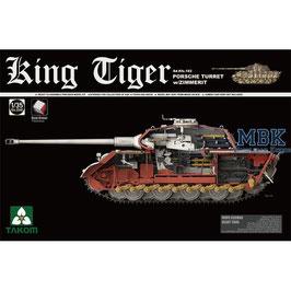 TAKOM KING TIGER Porsche Turm / Zimmerit