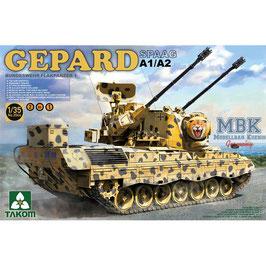 """Bundeswehr Flakpanzer """"Gepard"""" A1/A2 (2 in one)"""