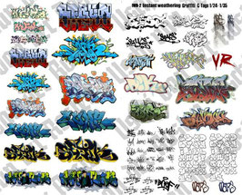 1014 Instant GRAFFITI decal