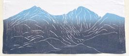 Longs Peak and Mt Meeker kitchen towel *14er*