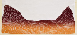 Red Rocks Amphitheater kitchen towel