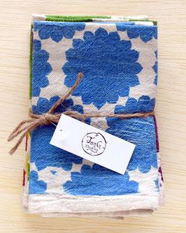 pattern napkins, set of 6