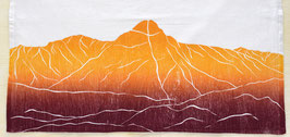 Mount of the Holy Cross kitchen towel +14er+