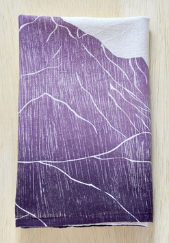 Mountain range kitchen towels Pikes Peak single