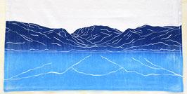 Grand Lake and Mount Craig/Baldy kitchen towel