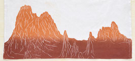 Garden of the Gods Cathedral Spires kitchen towel