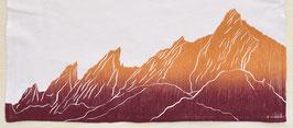 Boulder Flatirons kitchen towel