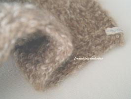 Wunderbarer Kuschel-Wrap, lässig und schlicht (Olivgrün meliert oder Schokosahne meliert)