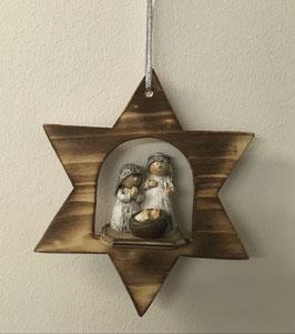 Krippe im Stern Figuren (A) zum hängen