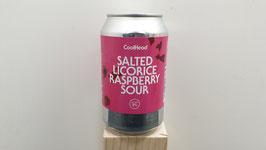 Salted Licorice Raspberry Sour