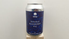 Deep Double Blueberry Pie