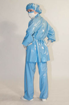 Latex Surgical Suit