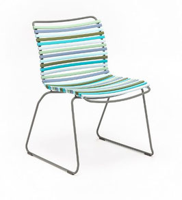 HOUE Stuhl Click ohne Armlehne - Multiblau
