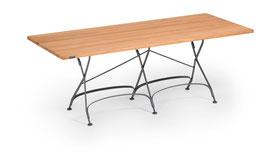 WEISHÄUPL Classic Tisch 180 x 80 cm  - Teakholz