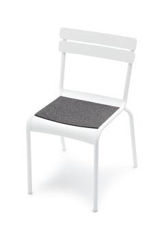 HEY-SIGN Filz Sitzkissen Fermob Stuhl Luxembourg ohne Antirutschausrüstung