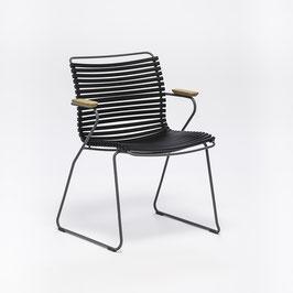 HOUE Stuhl Click mit Armlehne - Schwarz