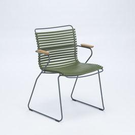 HOUE Stuhl Click mit Armlehne - Oliv