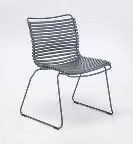 HOUE Stuhl Click ohne Armlehne - Dunkelgrau