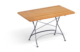 WEISHÄUPL Classic Tisch 120 x 80 cm  - Teakholz