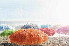 JAN KURTZ Schirm Hawaii - Einfarbig rund 200 cm