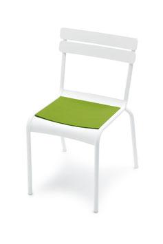 HEY SIGN Filzauflage Stuhl Luxembourg mit Antirutsch