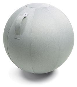 VLUV Sitzball Leiv - silber 75 cm