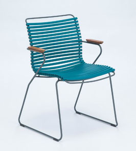 HOUE Stuhl Click mit Armlehne - Petrol
