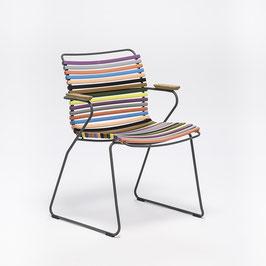 HOUE Stuhl Click mit Armlehne - Multibunt