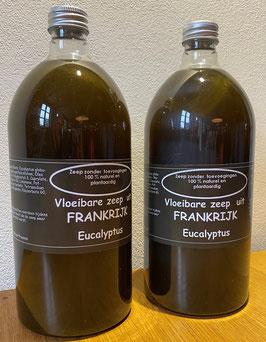 Vloeibare zeep Black Eucalyptus, set van 2 flessen (1000 ml per stuk voor navulling)