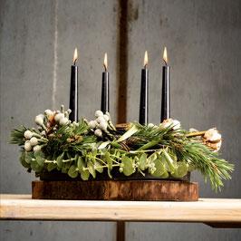 ! Neu ! Weihnachten nordisch, natürlich mit schwarz  Workshop am 26. November  2019 von  18.30 - 20:30 Uhr