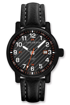 MASTERPIECE Automatik 8101BK/S-CAR BlackCarbon