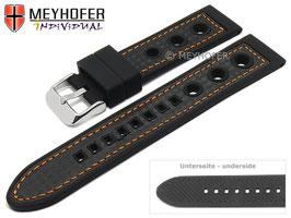 MEYHOFER Silikonband Racing 20 mm