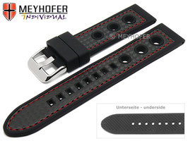 MEYHOFER Silikonband Racing 22 mm