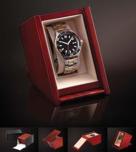 ASSARTO Mahagoni Uhrenbox