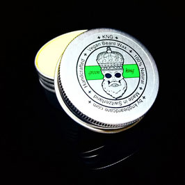 "Veganer Bart Wachs / Vegan Beard Wax ""Green King"""