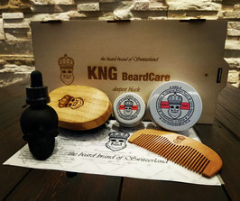 "KNG BeardCare Collection ""deepest black"""