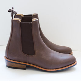 Hobo Adan darkbrown gefettet Damen