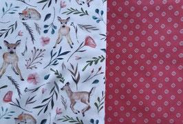 Rehlein/ dunkles rosa