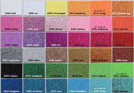 Glitter Moosgummi 20x30