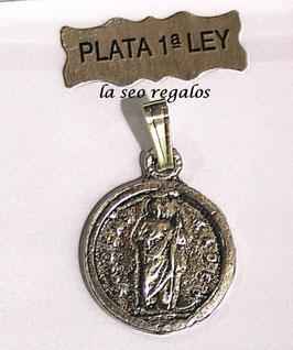 MEDALLA EN PLATA DE LEY DE SAN JUDAS TADEO