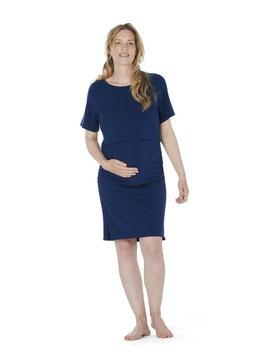 DAGSMEJAN Schwangerschafts- & Stillnachthemd Kurzarm - NATTWELL™ SLEEP TECH