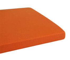 Fixleintuch MEGA-STRETCH für Topper - 123 papaya