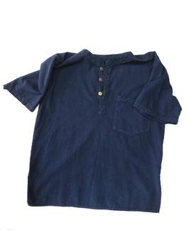 Chemise manche courte, bleu foncé