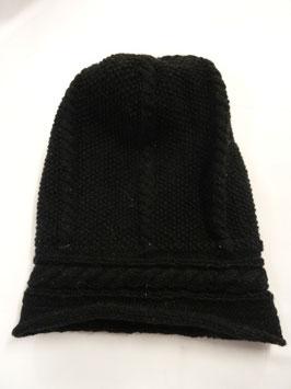 Bonnet en laine, noir
