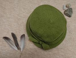 Chapeau en laine, vert