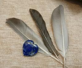 Pendentif cœur lapis lazuli