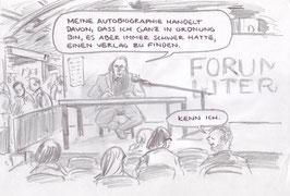 Literaturforum - Format A4  - auf Papier