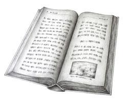 Buch - Format: A4 - Bleistiftzeichnung